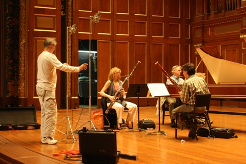 September 2010 recording session